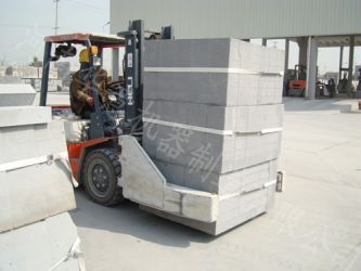 Aerated brick device—aerated concret block device with annual production 200 thousand m3in Hongjie light wall material company in Zhejiang jiangshan city